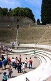 Groot arena-I-Pompei Stock Afbeelding