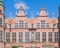 Groot arsenaal Gdansk, Polen Stock Foto's
