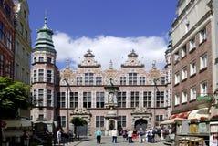 Groot Arsenaal van Gdansk in Polen Stock Foto's