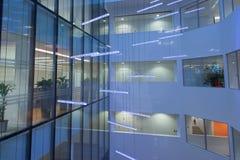Groot Atrium Stock Fotografie