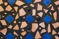 Vierkanten & Shells Stock Afbeelding