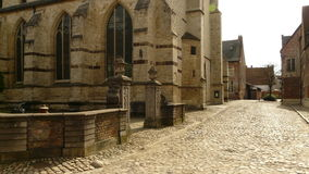 Groot begijnhof leuven beguinage. This is the beguinage at leuven belgium stock photo