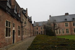Groot Begijnhof Louvain Photo libre de droits