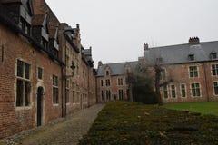Groot Begijnhof Louvain photo libre de droits