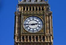Groot Ben Clock Face in Londen Stock Afbeeldingen