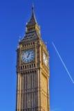 Groot Ben Tower Houses Parliament Westminster Londen Engeland Royalty-vrije Stock Afbeeldingen