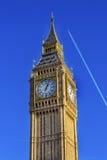 Groot Ben Tower Houses van het Parlement Londen Engeland van Westminster Royalty-vrije Stock Foto's