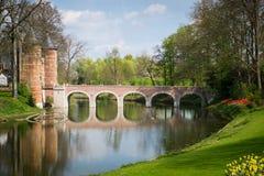 ¡ Groot-Bijgaarden Ð astle in Belgien Lizenzfreies Stockbild