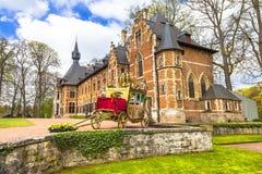 Groot-Bijgaarden slott Royaltyfria Foton