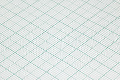 Groot bladmillimeterpapier Stock Foto's