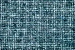 Groot blauw mozaïek Stock Afbeeldingen