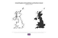 groot-brittannië stock illustratie