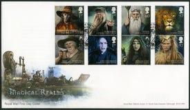GROOT-BRITTANNIË - 2011: toont reeks Magische Koninkrijken Stock Fotografie