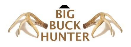 Groot Buck Hunter Rendering royalty-vrije stock foto's