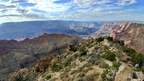 Groot canion nationaal park Arizona royalty-vrije stock foto