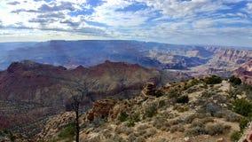Groot canion nationaal park Arizona stock foto's