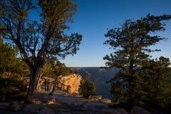 Groot Canion Nationaal Park De rivier van Colorado Beroemd meningspunt Stock Foto