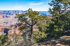 Groot Canion Nationaal Park, de V Stock Afbeeldingen