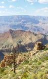 Groot canionzuiden Desertview watchtover Stock Afbeeldingen
