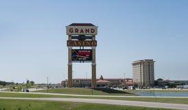Groot Casino en Toevlucht, O.K. Shawnee, stock afbeelding