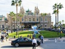 Groot Casino in Monte Carlo stock foto's