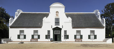 Groot Constantia manor house Royalty Free Stock Photo