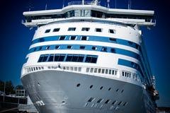 Groot cruiseschip Royalty-vrije Stock Foto's