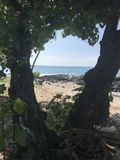 Groot Eiland Hawaï royalty-vrije stock afbeelding