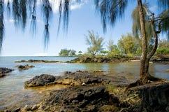 Groot Eiland, Hawaï Stock Foto's