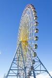 Groot Ferris Wheel, Blauwe Hemel Stock Afbeeldingen