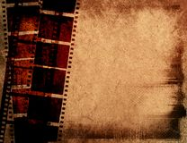Groot filmframe Stock Afbeeldingen