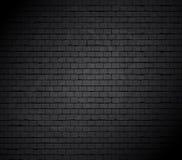 Groot gat op bakstenen muur. stock illustratie