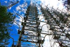 Groot gebied van de geplunderde antenne van het militaire voorwerp Royalty-vrije Stock Foto's