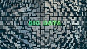 Groot gegevensconcept Stock Foto's