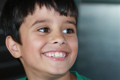 Groot-getande Glimlach Stock Afbeeldingen