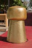 Groot Gouden Cork Sculpture bij de universele Expositie van 2015 in Milaan, Stock Fotografie