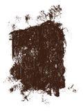 Groot Grunge Vierkant 8 Royalty-vrije Stock Fotografie