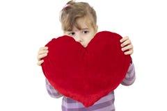 Groot hart Stock Foto's