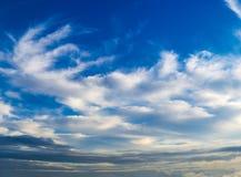 groot hemelpanorama voor grote 3D projecten Stock Foto