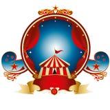 Groot hoogste zegelcircus Royalty-vrije Stock Afbeelding