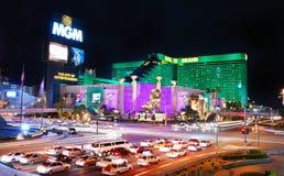 Groot Hotel MGM in Las Vegas Stock Fotografie
