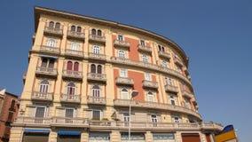 Groot hotel in Napels Stock Afbeelding