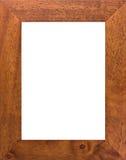 Groot houten frame Stock Fotografie
