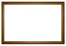 Groot houten frame Stock Afbeelding
