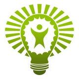 Groot Idee Lightbulb Royalty-vrije Stock Afbeelding