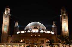 Groot Jamia Mosque, Bahria-Stad, Lahore, Pakistan stock afbeeldingen