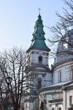 Groot kader van de kerk royalty-vrije stock foto's