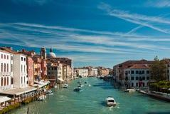 Groot Kanaal, Venetië stock afbeelding