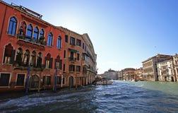 Groot Kanaal Venetië Royalty-vrije Stock Afbeeldingen