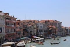 Groot Kanaal in Venetië Royalty-vrije Stock Afbeelding